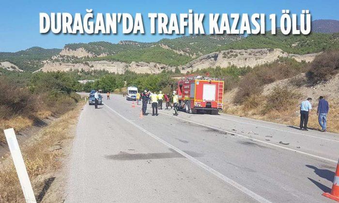 Durağan'da Trafik Kazası 1 Ölü
