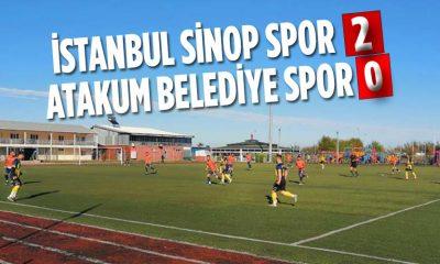 İSTANBUL SİNOP SPOR 2 ATAKUM BELEDİYE SPOR 0