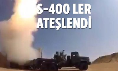 S-400 ler Sinop'da test edildi