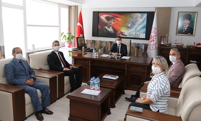 Sinop Valisi, Gençlik ve Spor İl Müdürlüğünden Brifing Aldı