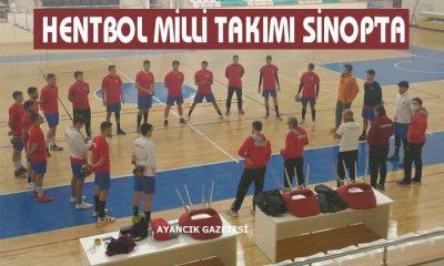HENTBOL MİLLİ TAKIMI SİNOP'TA