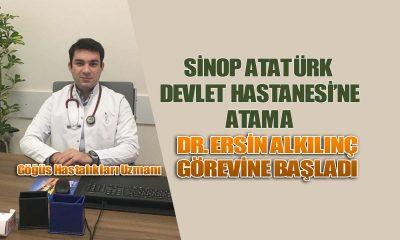 Sinop Atatürk Devlet Hastanesi'ne Göğüs Hastalıkları Uzmanı Atandı