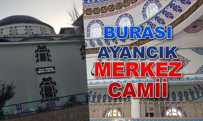 Ayancık Merkez Camii Güzelleştirildi