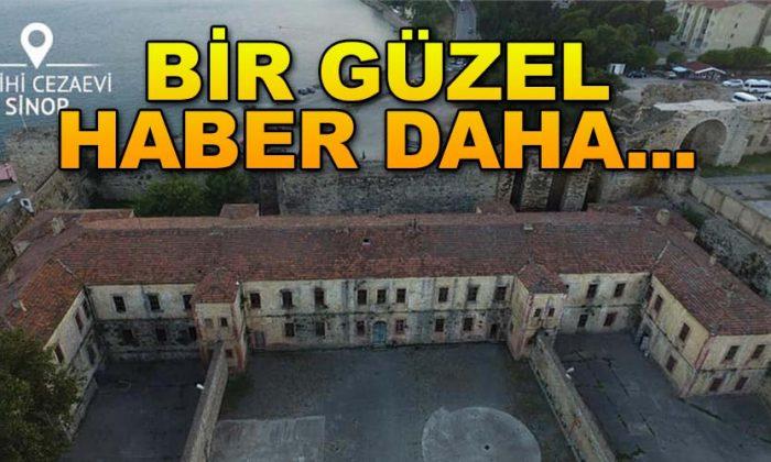 Sinop Cezaevinin etrafındaki Surlar onarılıyor