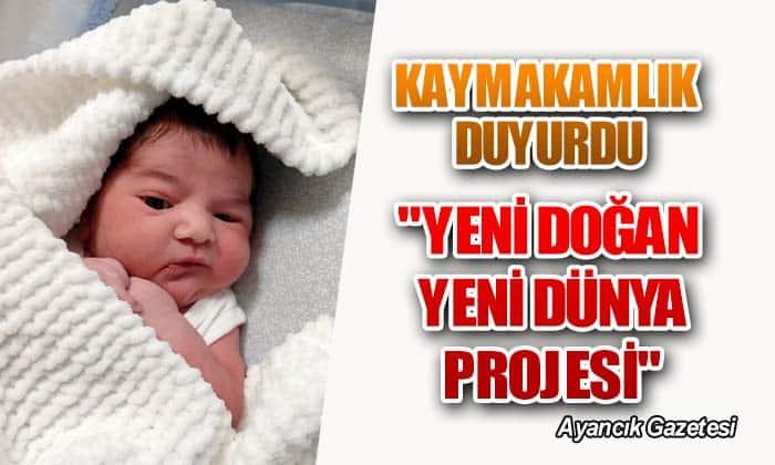 """""""YENİ DOĞAN YENİ DÜNYA PROJESİ"""""""