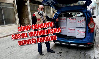 Sinop Cansuyu Sosyal Yardımlaşma Derneği kuruldu