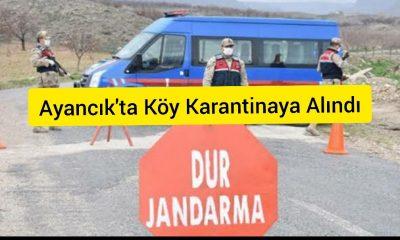 Topağaç Köyü Karantinaya Alındı