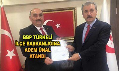 BBP Türkeli İlçe Başkanlığına Adem Ünal atandı
