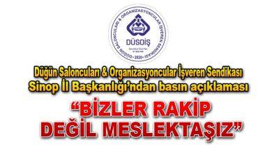 Düsoiş Sinop İl Başkanlığı'ndan Basın Açıklaması