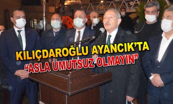 Kılıçdaroğlu Ayancık'ta