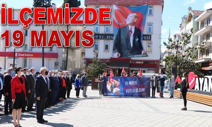 İlçemizde 19 Mayıs Atatürk'ü Anma, Gençlik ve Spor Bayramı Kutlandı