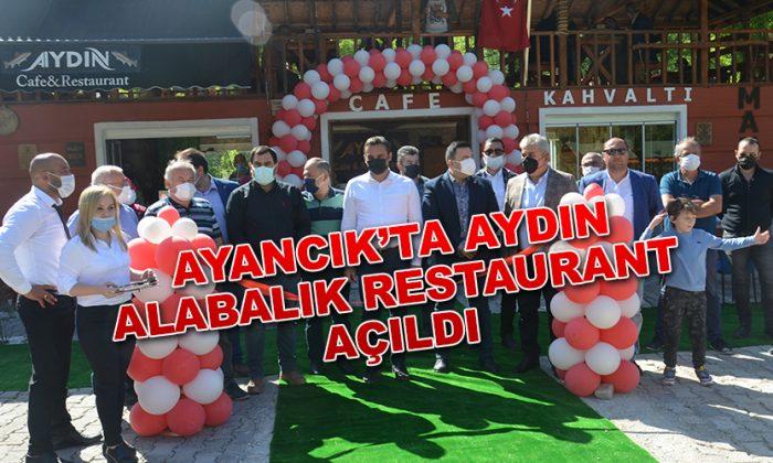 Aydın Alabalık Cafe&Restaurant Ayancık'ta Hizmete Girdi