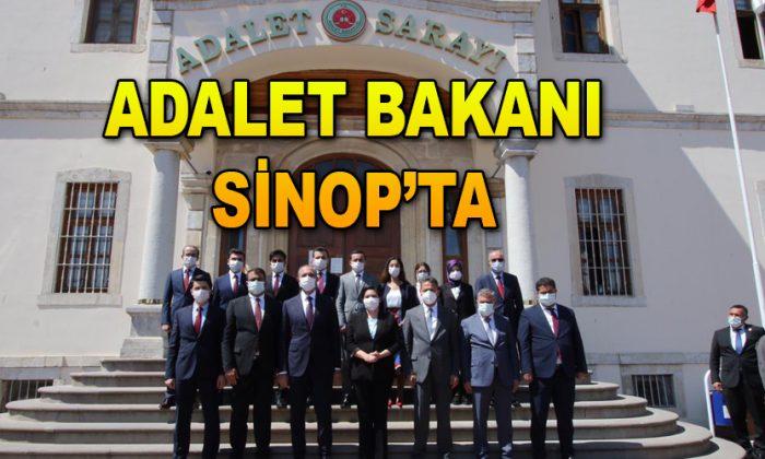 Adalet Bakanı Sinop'ta