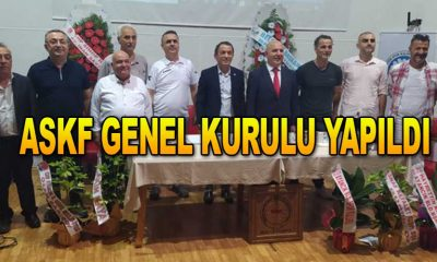 ASKF GENEL KURULU YAPILDI