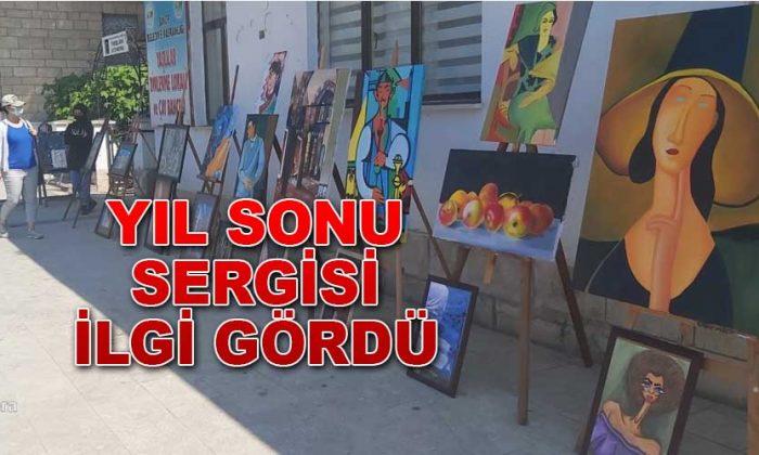 Sinop Güzel Sanatlar Lisesi Eserlerini Sergilediler