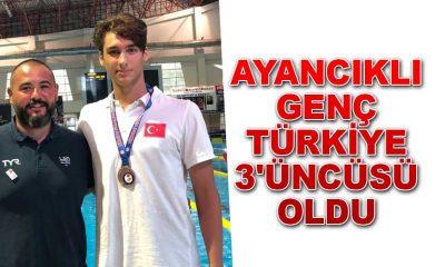 Ayancıklı genç Türkiye 3'üncüsü Oldu