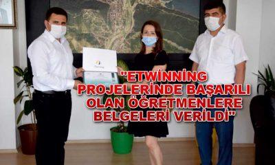 """""""eTwinning Projelerinde Başarılı Olan Öğretmenlere Belgeleri Verildi"""""""