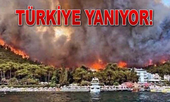 Türkiye'de yangında son durum