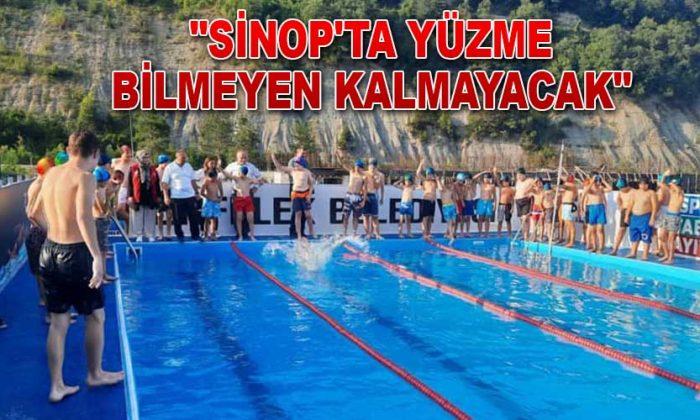 """Sinop'ta yüzme bilmeyen kalmayacak"""
