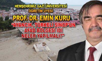 Prof Dr. Emin Kuru'dan Açıklama