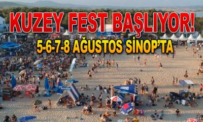 Sinop Festivali Başlıyor