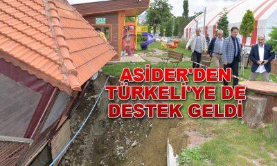 ASİDER'DEN TÜRKELİ'YE DE DESTEK GELDİ