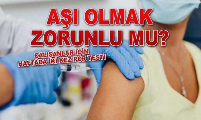 Aşı olmak zorunlu mu?