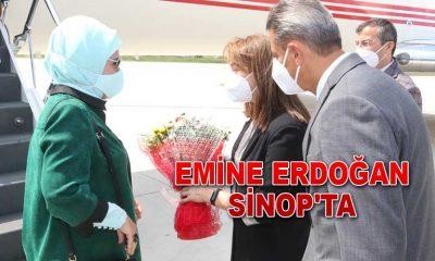 Emine Erdoğan Sinop'ta