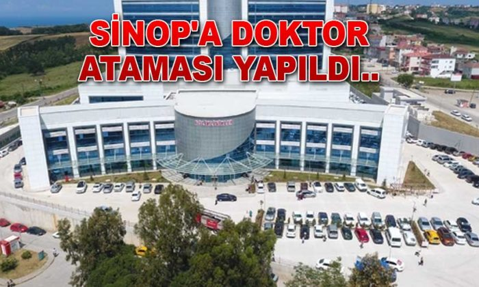 Sinop'a 13 Doktor Atandı