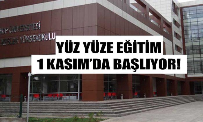 Sinop Üniversitesi'nde Yüz Yüze Eğitim Ertelendi