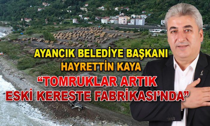TOMRUKLAR ARTIK ESKİ KERESTE FABRİKA'DA