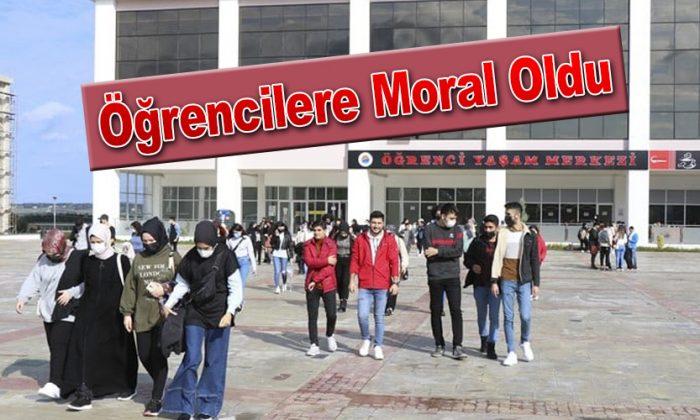 Öğrencilere Moral Oldu