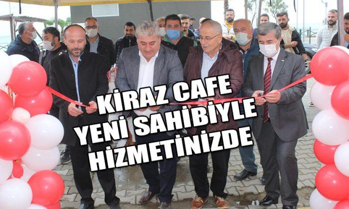Ayancık'ta Kiraz Cafe Açıldı
