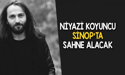 Niyazi KOYUNCU 29 Ekim'de Sinop'ta Sahne Alacak